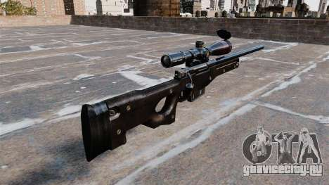 Снайперская винтовка AI Arctic Warfare Magnum для GTA 4 второй скриншот