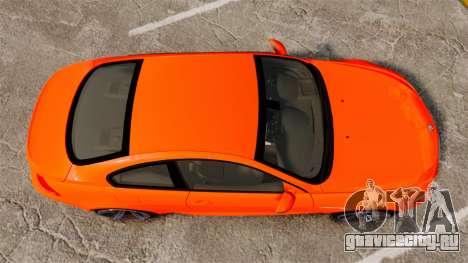 BMW M6 для GTA 4 вид справа