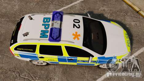Skoda Octavia RS Metropolitan Police [ELS] для GTA 4 вид справа