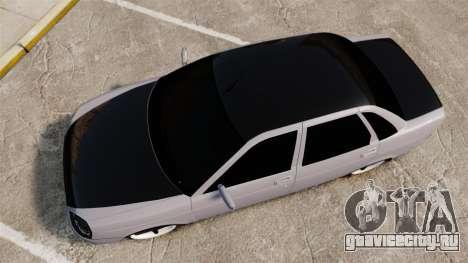 ВАЗ-2170 Lada Priora Turbo для GTA 4 вид справа