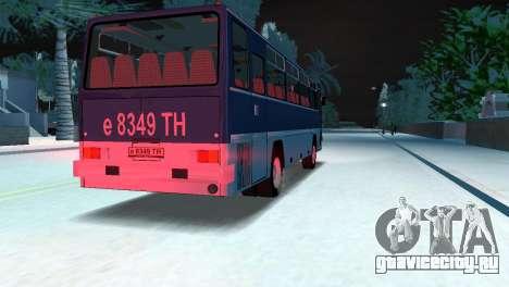 Икарус 255 для GTA Vice City вид справа
