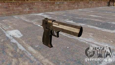 Пистолет Desert Eagle MW3 для GTA 4