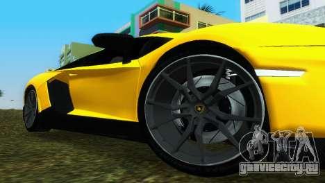 Lamborghini Aventador LP720-4 50th Anniversario для GTA Vice City вид справа