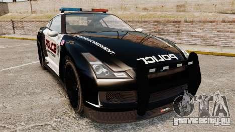 GTA V Police Elegy RH8 для GTA 4