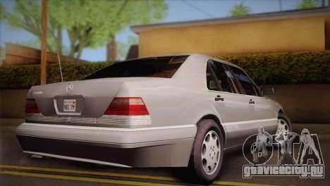Mercedes-Benz S600 V12 Custom для GTA San Andreas вид слева