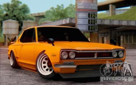Nissan Skyline 2000GTR для GTA San Andreas