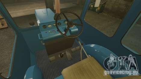 Трактор МТЗ-80 для GTA 4 вид изнутри