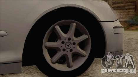 Mercedes-Benz W220 S500 4matic для GTA San Andreas вид сзади слева