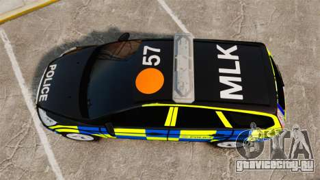 Ford Focus Estate 2009 Police England [ELS] для GTA 4 вид справа