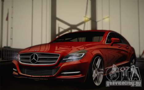 Mercedes-Benz CLS 63 AMG 2012 Fixed для GTA San Andreas
