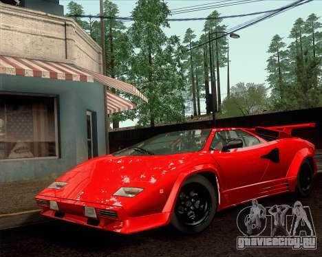 Lamborghini Countach LP500 Quattrovalvole 1988 для GTA San Andreas вид справа