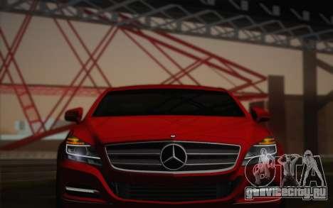 Mercedes-Benz CLS 63 AMG 2012 Fixed для GTA San Andreas вид сверху