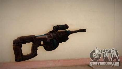 Снайперская Винтовка из Bulletstorm для GTA San Andreas второй скриншот