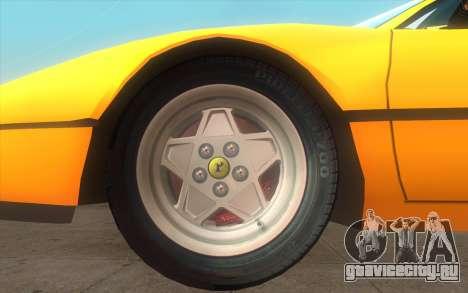 Ferrari 328 GTB для GTA San Andreas вид сзади слева