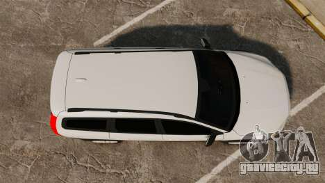 Volvo XC70 Unmarked [ELS] для GTA 4 вид справа