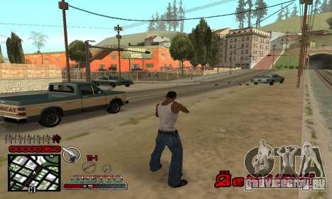 C-HUD Getto Jonka для GTA San Andreas