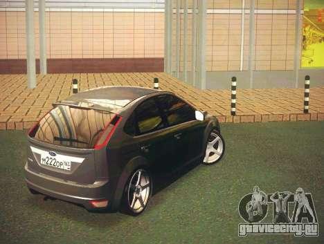 Ford Focus 2009 LT для GTA San Andreas вид сзади слева