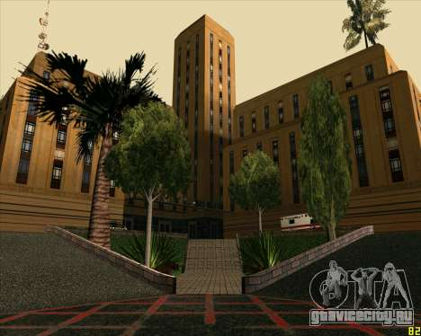 Новый HD Госпиталь для GTA San Andreas
