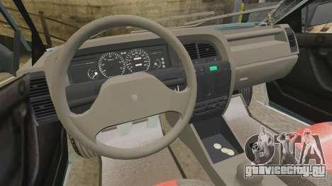 Citroen Xantia 1999 для GTA 4 вид сзади