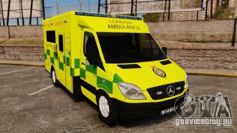 Mercedes-Benz Sprinter [ELS] London Ambulance для GTA 4