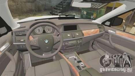 BMW X5 Police [ELS] для GTA 4 вид сбоку