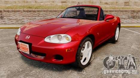 Mazda (Miata) MX-5 для GTA 4