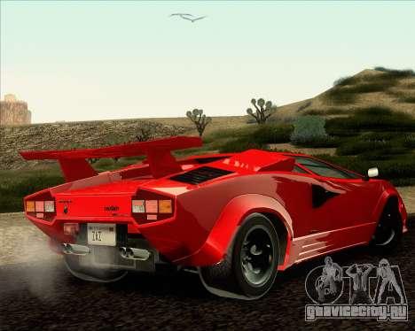 Lamborghini Countach LP500 Quattrovalvole 1988 для GTA San Andreas вид слева