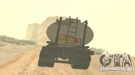 Прицеп для Barracks GTA 5 ver.2 для GTA San Andreas вид слева