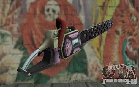 Пила Джульетты для GTA San Andreas второй скриншот