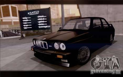BMW M3 E30 Stock Version для GTA San Andreas вид сбоку