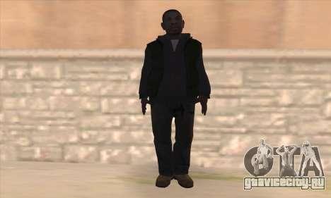 Кларенс из GTA IV для GTA San Andreas