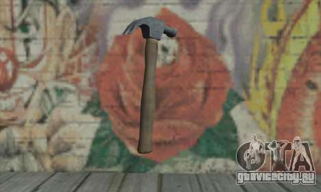 Молоток из GTA V для GTA San Andreas второй скриншот