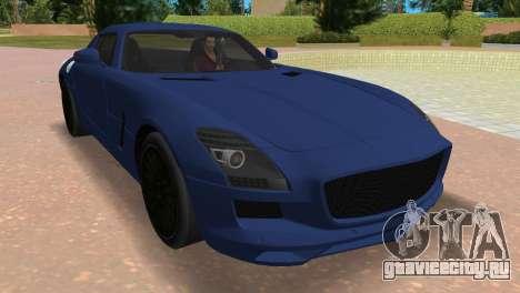 Mercedes-Benz SLS AMG V12 для GTA Vice City