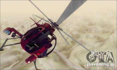 Buzzard Attack Chopper из GTA 5 для GTA San Andreas