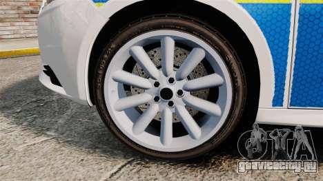 Ford Focus 2013 Uk Police [ELS] для GTA 4 вид сзади