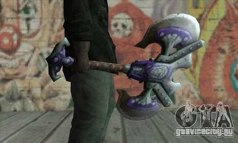 Топор из World of Warcraft для GTA San Andreas второй скриншот