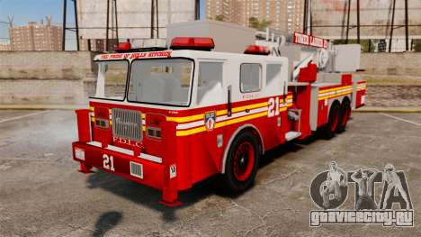 Seagrave Aerialscope Tower Ladder 2006 FDLC для GTA 4