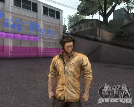 X-men Origins: Wolverine [Skins Pack] для GTA San Andreas третий скриншот