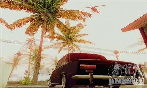 ВАЗ 2101 для GTA San Andreas вид изнутри