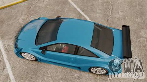 Opel Astra Coupe OPC Road Edition для GTA 4 вид справа