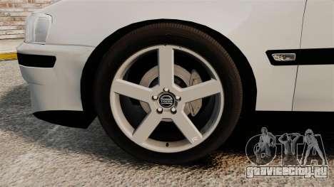 Volvo S60R для GTA 4 вид изнутри