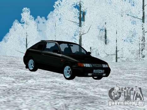 ВАЗ 2112 Купе Черныш для GTA San Andreas вид слева