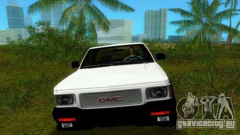 GMC Cyclone 1992 для GTA Vice City вид справа
