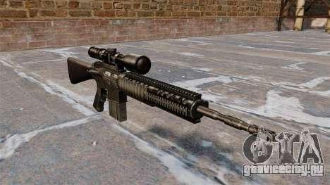 Снайперская винтовка Armalite AR-10 для GTA 4