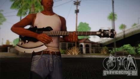 Гитара KISS для GTA San Andreas третий скриншот