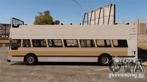 Туристический автобус для GTA 4 вид слева