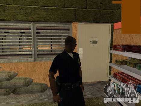 New lapd1 для GTA San Andreas второй скриншот