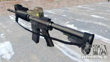 Автоматический карабин M4A1 для GTA 4 второй скриншот