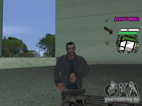 HUD для GTA San Andreas второй скриншот