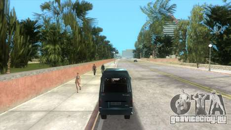Kia Towner для GTA Vice City вид справа